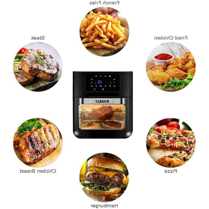 14QT 1700W Electric Fryer Oven OilLess Oven