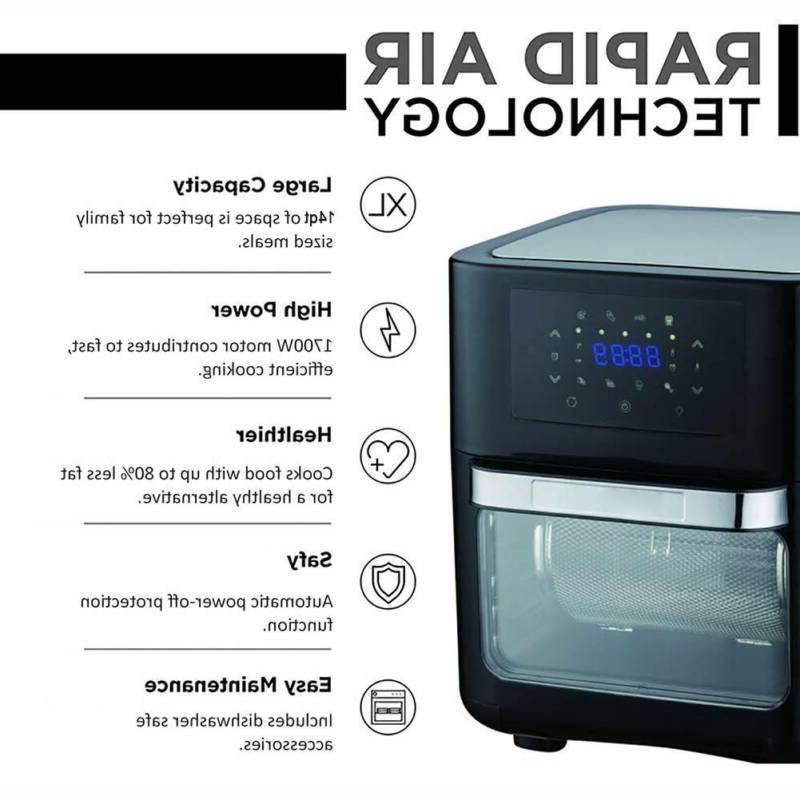 14QT Fryer OilLess