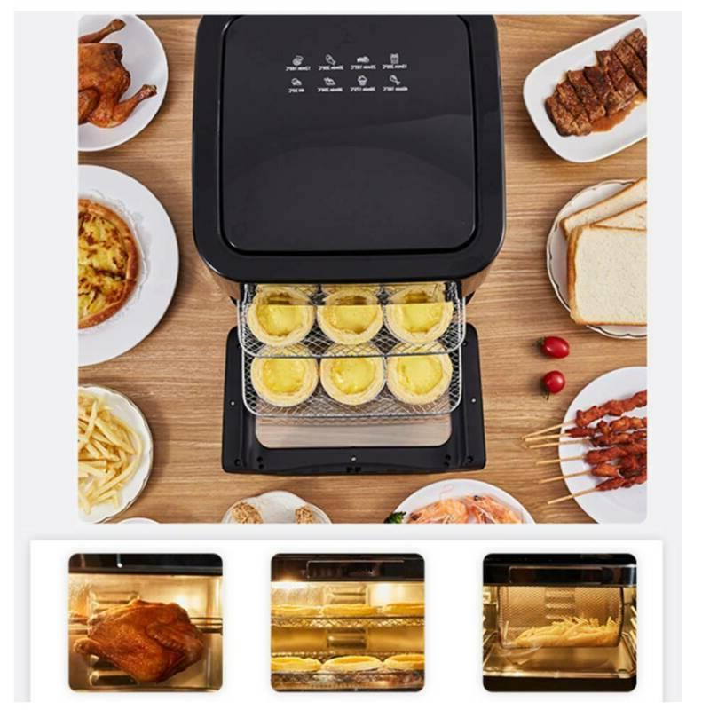 14QT 1700W Electric Fryer Oven with OilLess Oven