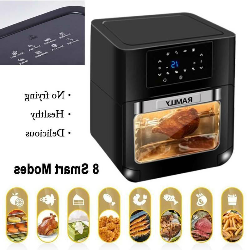 14QT Fryer Rotisserie OilLess Oven