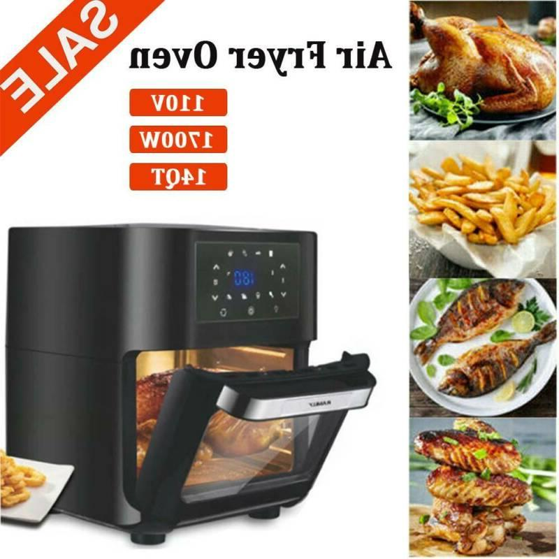 14 quart air fryer oven 1700w air