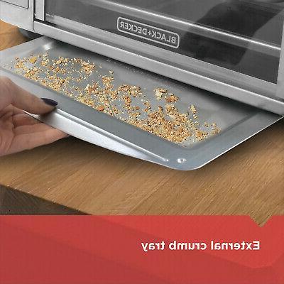 Convection Countertop Toaster Oven Decker Rack