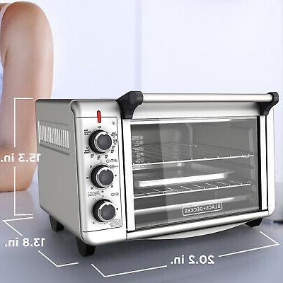 Convection Countertop Oven Stainless Steel Kitchen