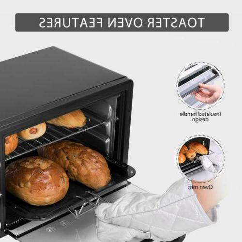 VIVOHOME Toaster Oven Pizza Family Size
