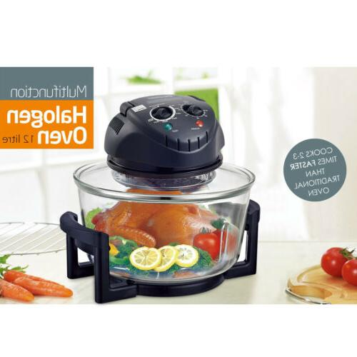 17-Quart Halogen Convection Countertop Cooker Air Toaster 1200