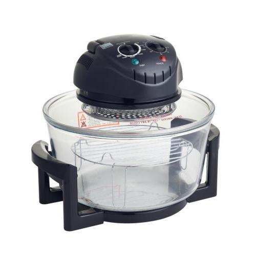 17-Quart Convection Countertop Cooker Toaster Fryer 1200