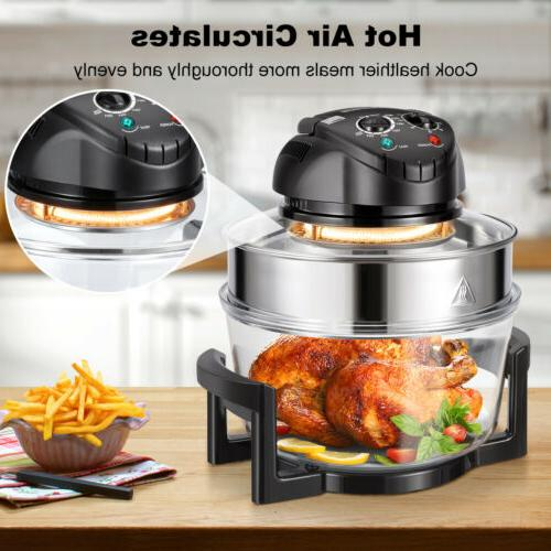 12-Quart Wave Oven Convection Countertop Air Toaster Fryer 1200