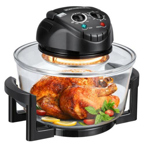 17 Halogen Oven Countertop Fryer Toaster