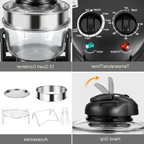 Countertop Fryer Toaster Bake Cooker