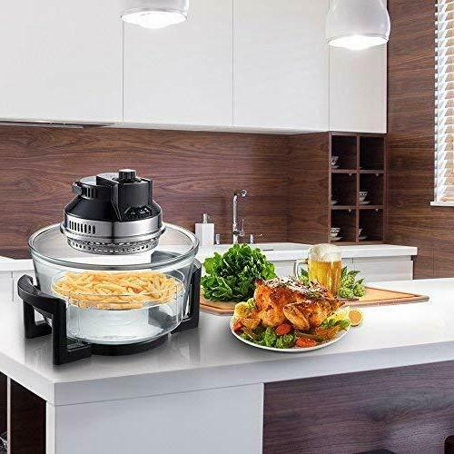 2-in-1 Oil Free Fryer RIGHT Infrared Halogen