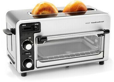 2 slice multi functional toaster oven brand