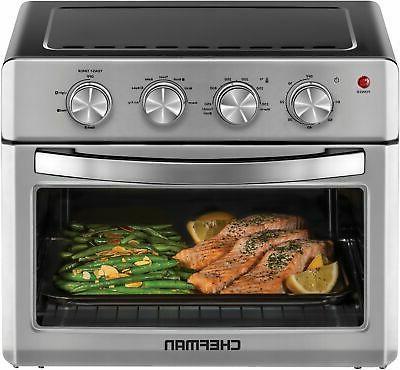 Chefman Fryer Oven, 6 Slice, QT Auto