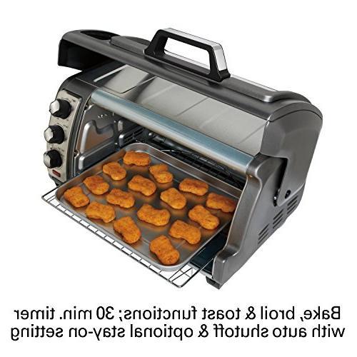 Hamilton Beach 31123D Easy Reach Oven Silver
