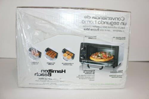 Hamilton Beach 31134 Oven Sealed