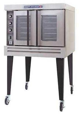 "39"" x 39"" 63 3/8"" Single Gas Convection PRIDE"