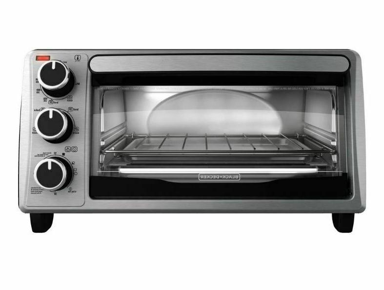 4 slice toaster oven 1150w 4 functions