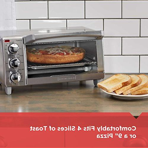 BLACK+DECKER with Convection, Stainless Steel, TO1760SS