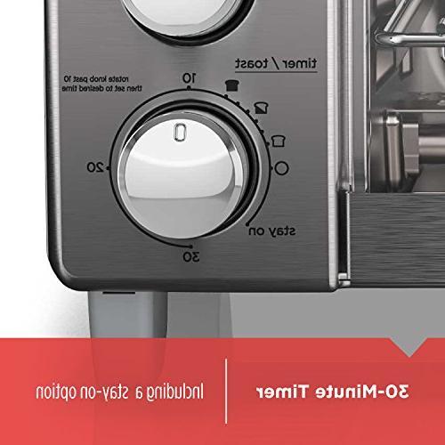 BLACK+DECKER Toaster with Steel,