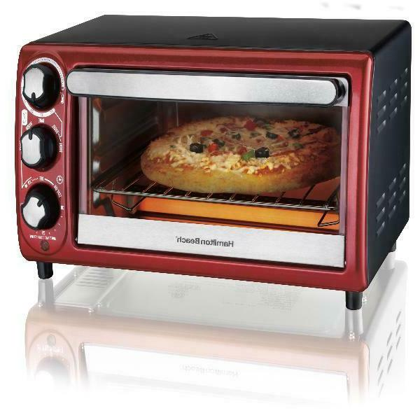 4 slices toaster convection broiler oven auto