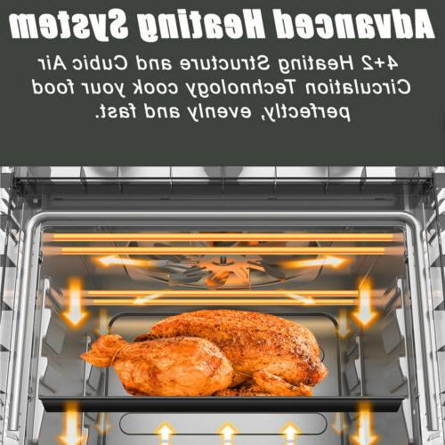 21 QT Fryer Countertop Convection Oven