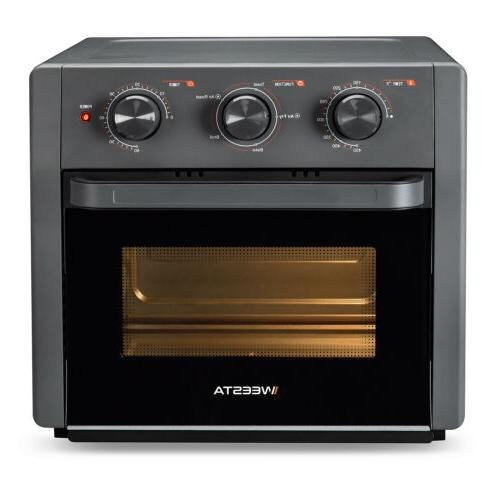 21 5-IN-1 Air Fryer Toaster Oven Countertop Oven