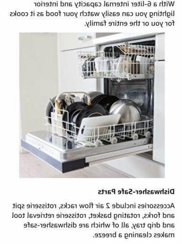 Chefman 6.3 Quart Air Oven Dehydrator Christmas