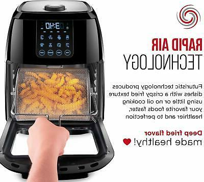 Chefman Air Fryer+ Rotisserie, Convection Oven, 8