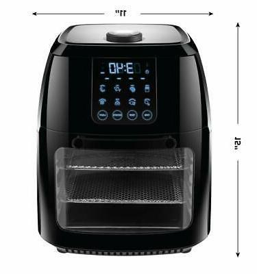 Chefman Fryer+ Oven 8 Presets Air