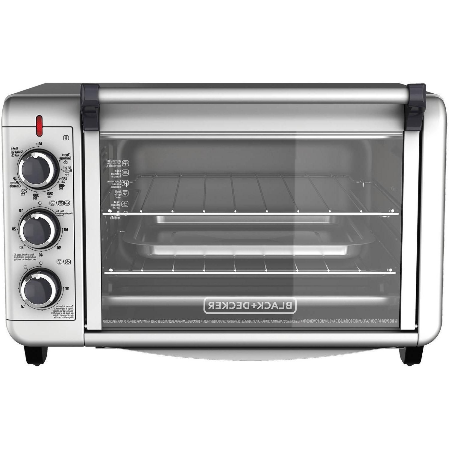 6 slice convection countertop toaster oven stainless