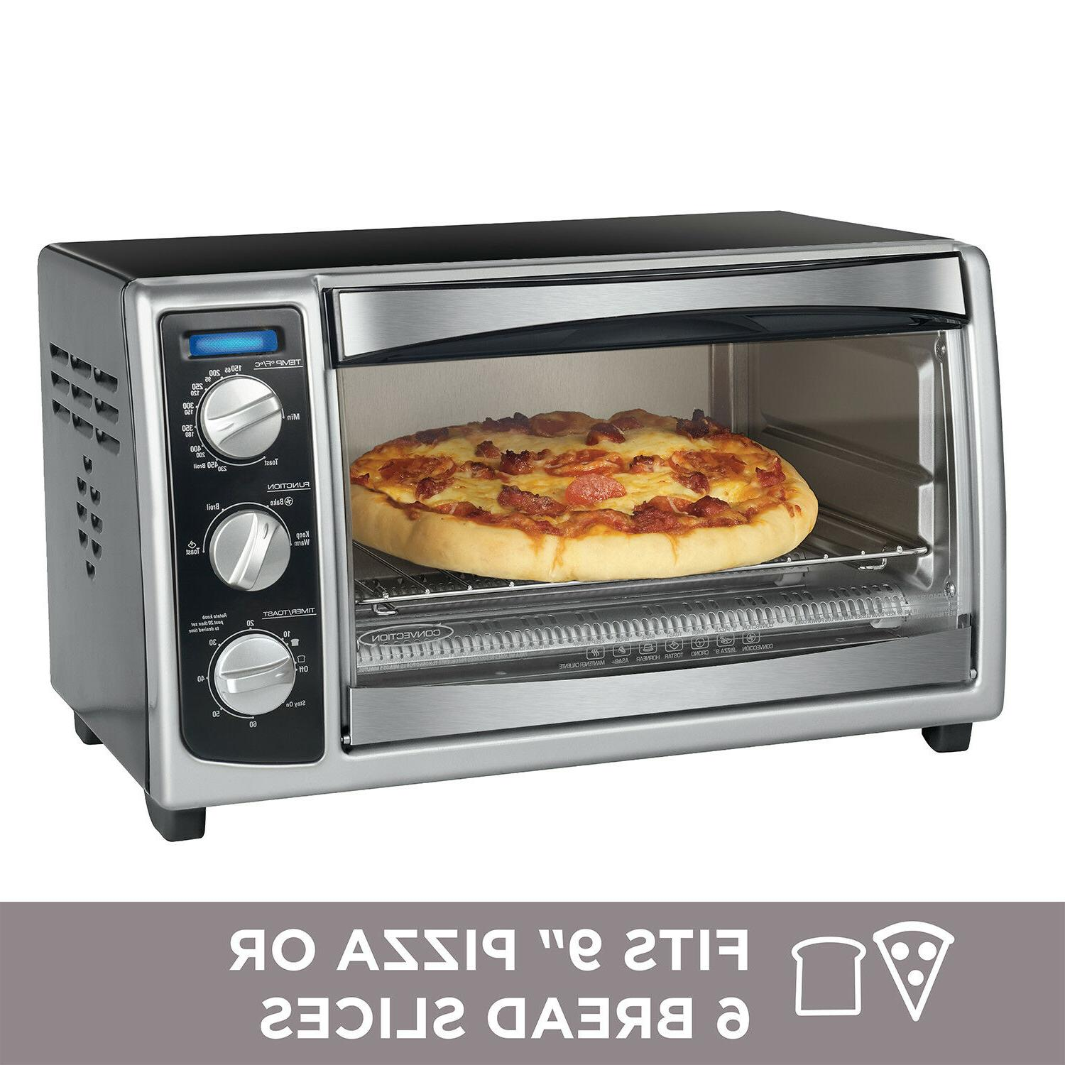 6 Pizza Countertop Stainless Steel &