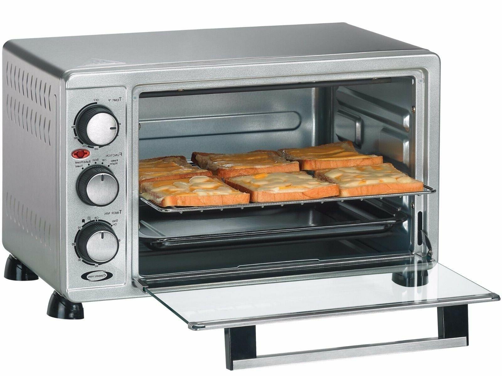6 slice convection toaster oven and broiler