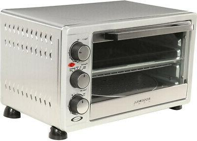 6 slice stainless steel toaster oven broiler