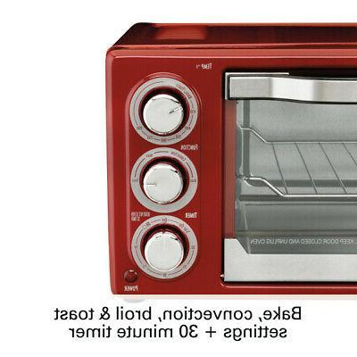 Hamilton 6 Toaster Red