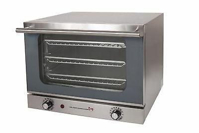 620 1 4 sheet convection oven new