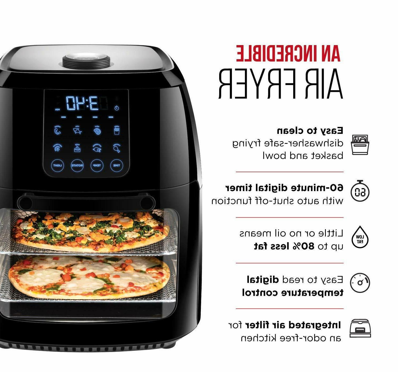Chefman Digital Fryer Rotisserie Oven FREE