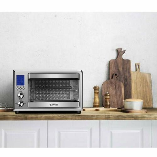 Convection Oven LCD Display
