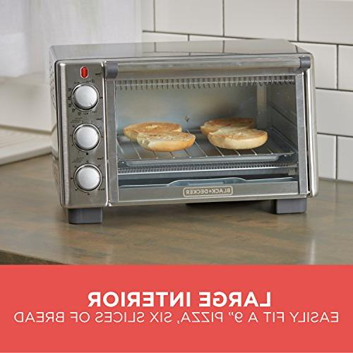 BLACK+DECKER 6-Slice Toaster TO2050S