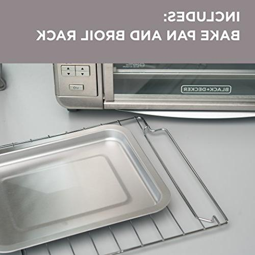 BLACK+DECKER Countertop Stainless Steel, TO3280SSD