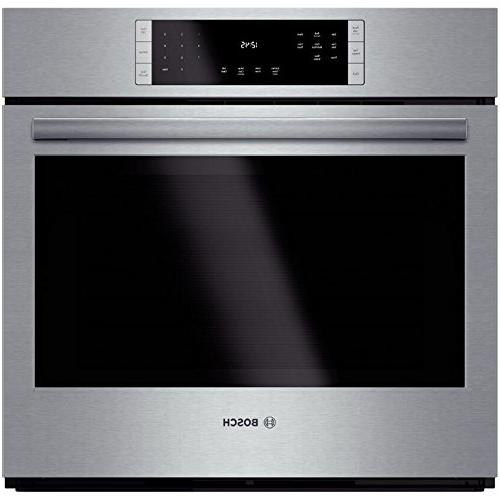 """Bosch HBL8451UC 800 30"""" Stainless Steel Electric Single Wal"""