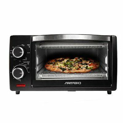 Chefman 4 Slice Countertop Toaster Oven w/ Variable Temperat