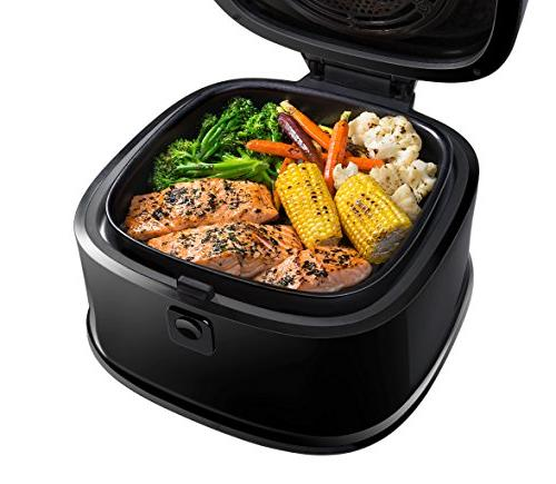 Chefman Air Fryer w/ Function For Perfect Fried Air w/ Exterior, & 1200W,