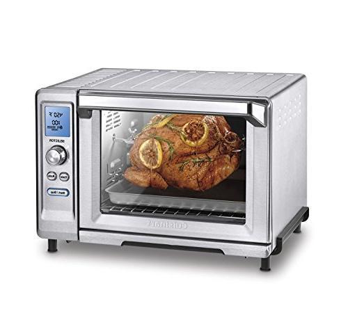 Cuisinart Rotisserie Toaster Oven, Stainless Steel