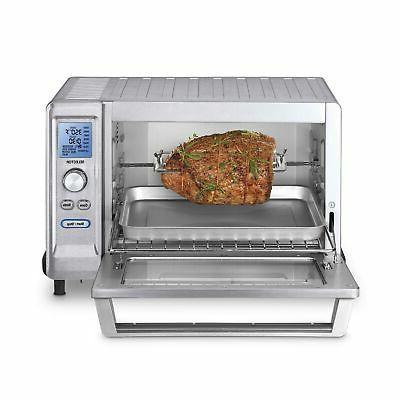 Cuisinart Rotisserie Toaster Steel