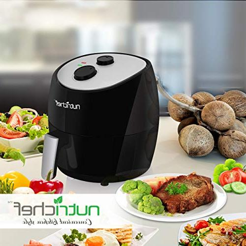 Electric Air Multi Cooker - 1300 High Hot Frying Oven Toaster Convection Cooker 3L Stick Teflon Fry Basket - Roast - PKAIRFR22