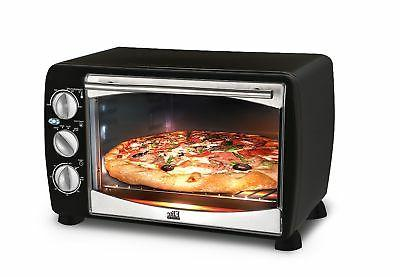Elite - 6-slice Toaster Oven - Black