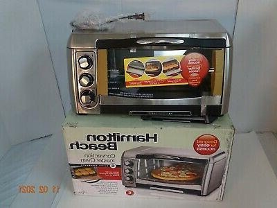 Hamilton Beach  Toaster Oven, Convection Oven, Electric, Sta