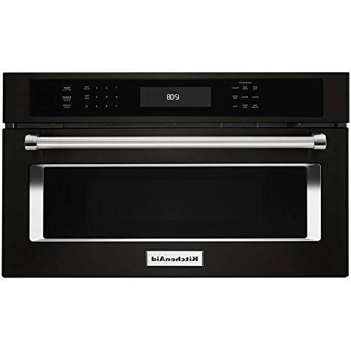 Kitchenaid - 1.4 Cu. Ft. Built-in Microwave - Black Stainles