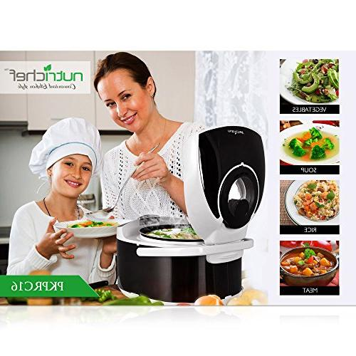 NutriChef - Countertop Preset Cooking Modes, Display