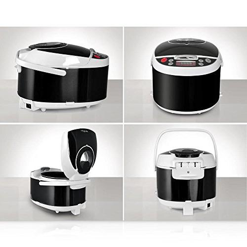 NutriChef Pressure - Countertop Multi-Cooker Preset Cooking Modes, Display