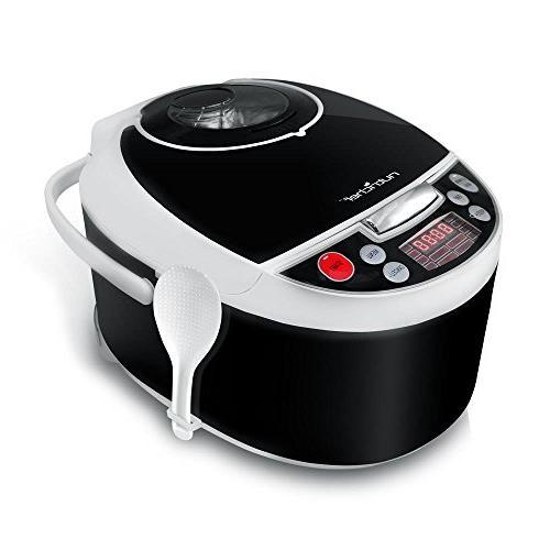 NutriChef Pressure - Countertop Multi-Cooker Preset Cooking Digital Display